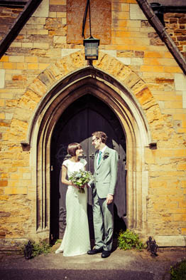 Hugh & Zoe Wedding, St Giles Church Northampton