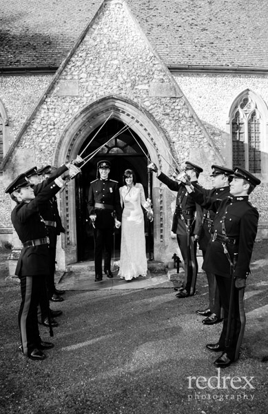 Guard of Honor, Military Wedding