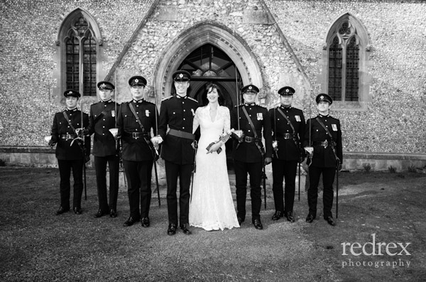Formal photo, Military Wedding