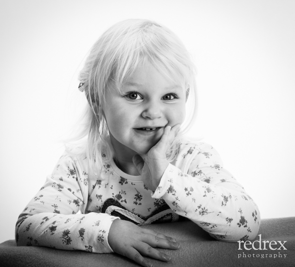 Toddler studio photo shoot