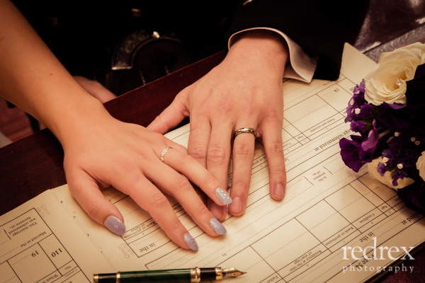 Married couple rings, Northampton Guildhall