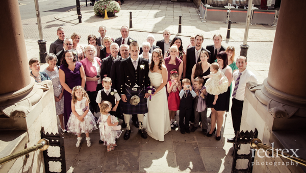 Confetti Northampton Guildhall Wedding