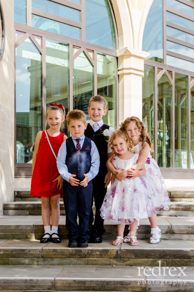 Children at Wedding, Northampton Guildhall