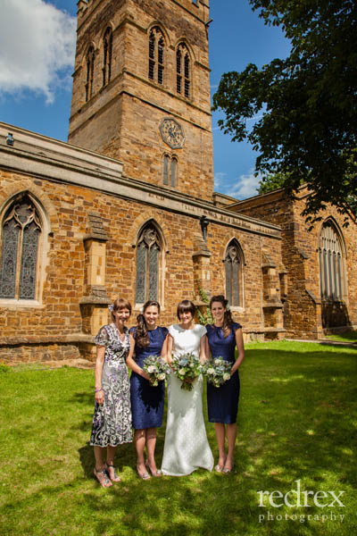 Formal Wedding Photo, St Giles Church Northampton