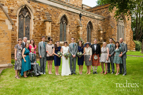 Group photo, St Giles Church Northampton