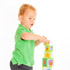 Toddler with Building Blocks