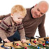 Dad & Toddler Son Foosball Table
